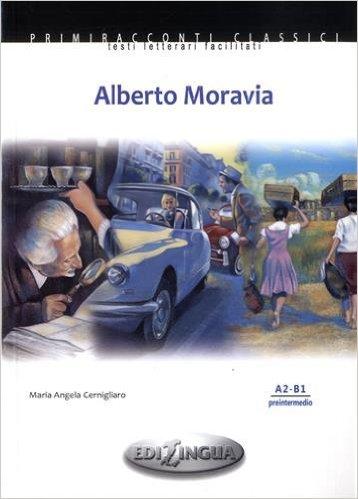 Alberto Moravia+CD - Адаптирана книжка на италиански език за ниво А2-В1