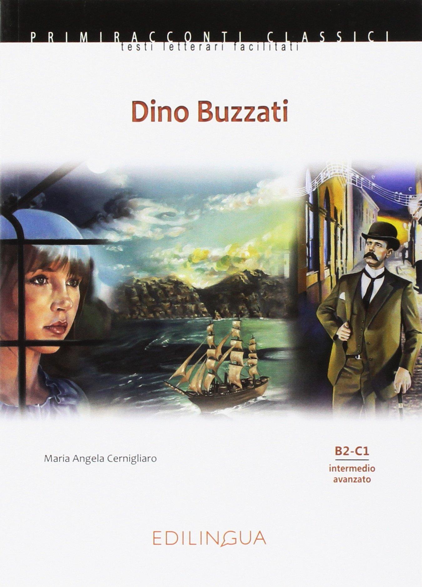 Dino Buzzati. Адаптирана книжка на италиански език за ниво B2-C1