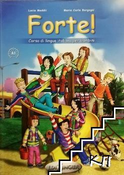 Forte! 1 - Libro dello studente ed esercizi + CD ROM + CD Audio
