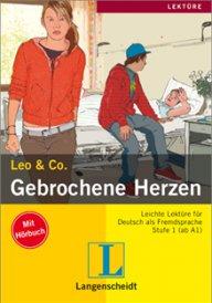 Leo und Co.Gebrochene Herzen Buch + CD, A1-A2