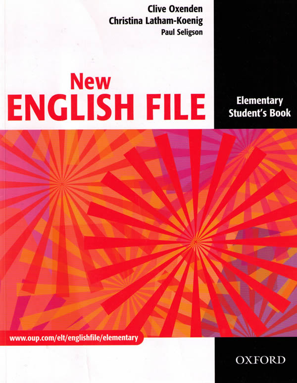 NEW ENGLISH FILE ELEMENTARY STUDENT'S BOOK A1<br>УЧЕБНИК ПО АНГЛИЙСКИ ЕЗИК