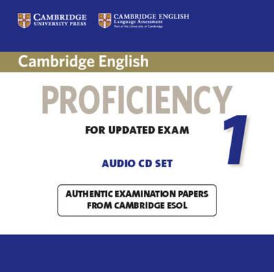 Cambridge English Proficiency for updated exam Practice Tests - Book 1 Audio CDs (2) - Аудио дискове към Книга 1 с Практически тестове по английски език за сертификат Proficiency