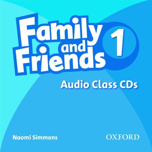 Family and Friends 1: Class Audio CDs - Аудио дискове към учебника по английски език за деца