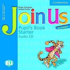 Join Us for English Starter Pupil's Book Audio CD- Аудиодискове за учебник по английски език за деца 1-4 клас