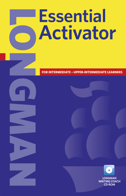 Longman Essential Activator, New Edition, with CD-ROM - Английски речник