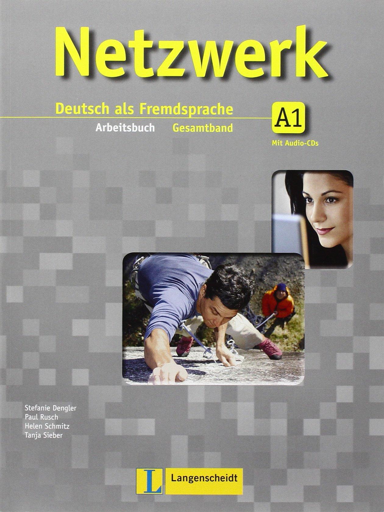 Netzwerk - Niveau 1 Arbeitsbuch + 2 Audio-CDs - Учебна тетрадка по немски език за ниво А1 с аудио дискове