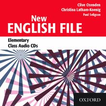 NEW ENGLISH FILE ELEMENTARY CLASS AUDIO CDs (3) A1<br>АУДИО АНГЛИЙСКИ ЕЗИК
