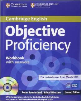 Objective Proficiency Second edition - Workbook with answers with audio CD - Учебна тетрадка по английски език за Proficiency с отговори и аудио диск