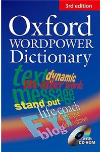Oxford Wordpower Dictionary for Learners of English with CD-ROM 3rd Edition- Английски тълковен речник