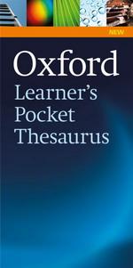 Oxford Learner\'s Pocket ThesaurusBritish English - Джобен речник на английските синоними