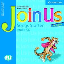 Join Us for English Starter Songs Audio CD- Аудиодиск с песни към учебник по английски език за деца 1-4 клас