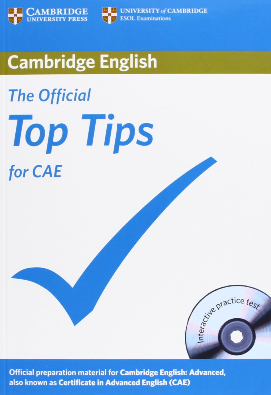 The Official Top Tips for Advanced - Paperback with CD-ROM - Най-важното за сертификата Advanced по английски език с аудио диск