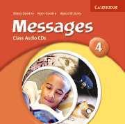 Messages Level 4 Class Audio CDs- Аудио дискове към учебника по английски език за 5-8 клас