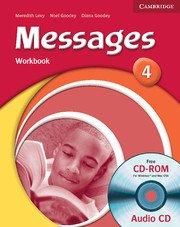 Messages Level 4 Workbook with Audio CD - Учебна тетрадка с аудио диск към учебника по английски език за 5-8 клас