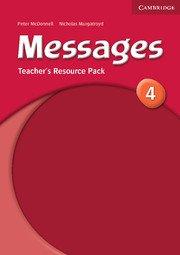 Messages Level 4 Teacher\'s Resource Pack - Учебник за учителя по английски език с допълнителни материали