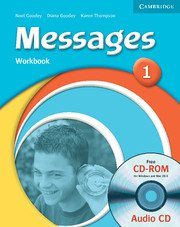 Messages Level 1 Workbook+CD - Учебнa тетрадка с аудио диск към учебника по английски език за 5-8 клас