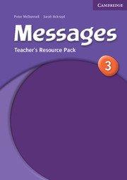 Messages Level 3 Teacher\'s Resource Pack - Учебник за учителя по английски език с допълнителни материали