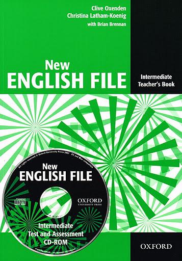 NEW ENGLISH FILE INTERMEDIATE TEACHER'S BOOK +  TEST AND ASSESSMENT CD-ROM B1<br>УЧИТЕЛСКИ УЧЕБНИК АНГЛИЙСКИ ЕЗИК