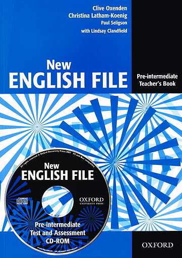 NEW ENGLISH FILE PRE-INTERMEDIATE TEACHER'S BOOK +  TEST AND ASSESSMENT CD-ROM A2<br>УЧИТЕЛСКИ УЧЕБНИК АНГЛИЙСКИ ЕЗИК