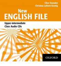 NEW ENGLISH FILE UPPER-INTERMEDIATE CLASS AUDIO CDs (3) (B2)<br>АУДИО АНГЛИЙСКИ ЕЗИК