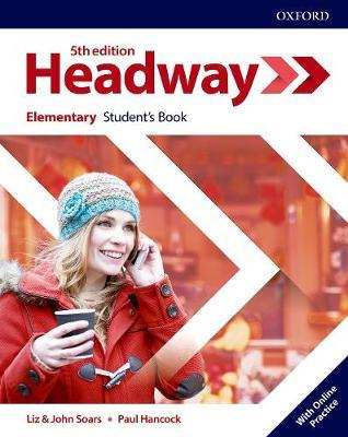 Учебник по английски език Headway Elementary Student's Book with Online Practice  Fifth edition