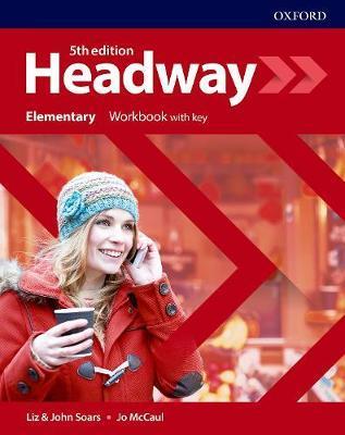 Учебна тетрадка по английски език Headway Elementary Workbook with Key Fifth edition