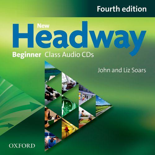 NEW HEADWAY: BEGINNER FOURTH EDITION: Class Audio CDs<br>АУДИО АНГЛИЙСКИ ЕЗИК