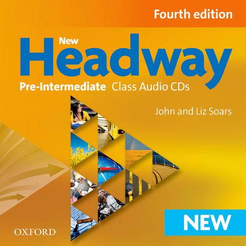 NEW HEADWAY: PRE-INTERMEDIATE FOURTH EDITION: Class Audio CDs<br>АУДИО АНГЛИЙСКИ ЕЗИК