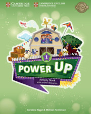 Power Up Level 1 Activity Book w Online Resources and Home Booklet