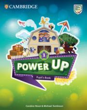 Power Up Level 1 Pupil's Book. Учебник по английски език 1-4 клас.