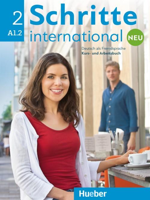 Schritte international Neu 2 A1.2 Kursbuch + Arbeitsbuch + CD zum Arbeitsbuch