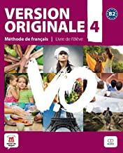 Version Originale 4 Livre de leleve(учебник+CD)